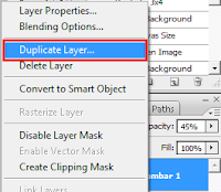 cara menduplicate layer di photoshop