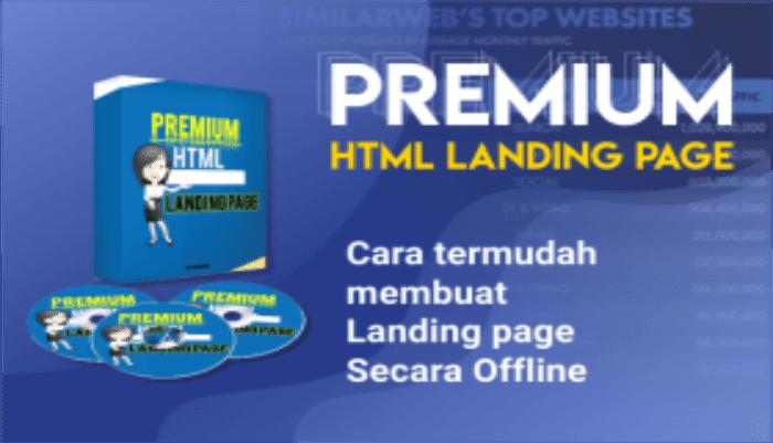 Premium HTML Landing Page