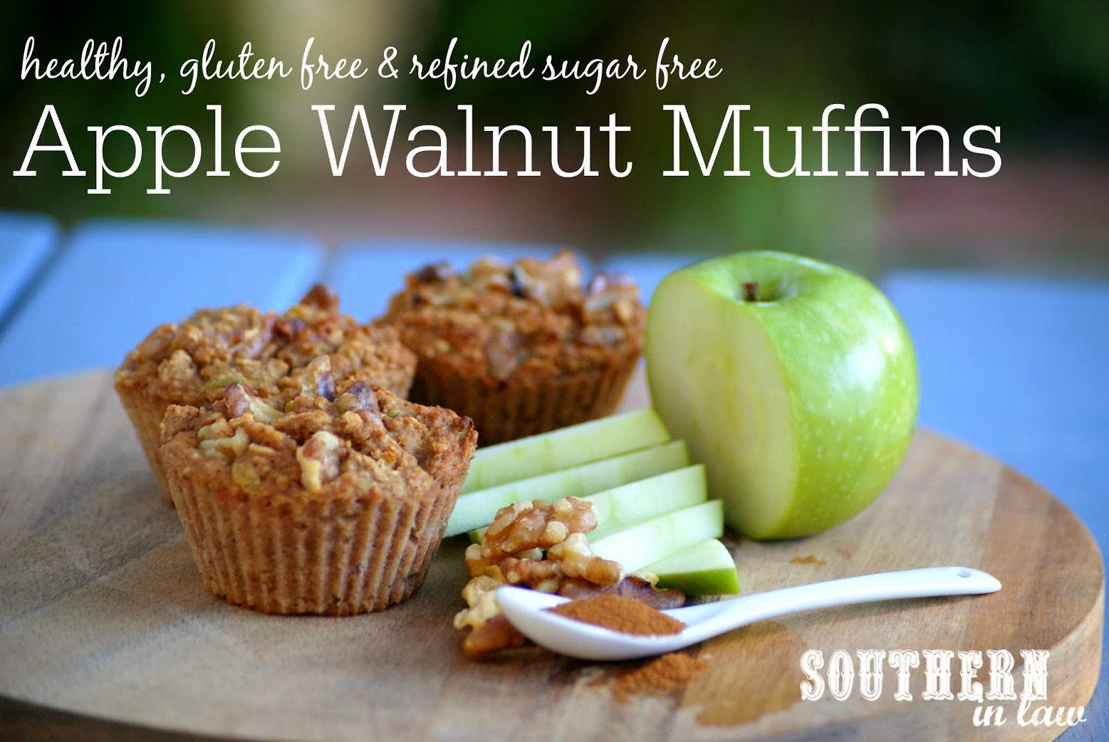Healthy Apple Walnut Muffins Recipe