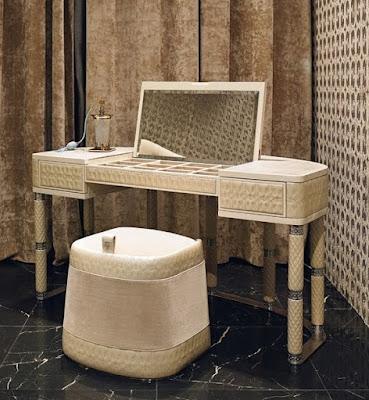 luxury white dressing table design for bedrooms