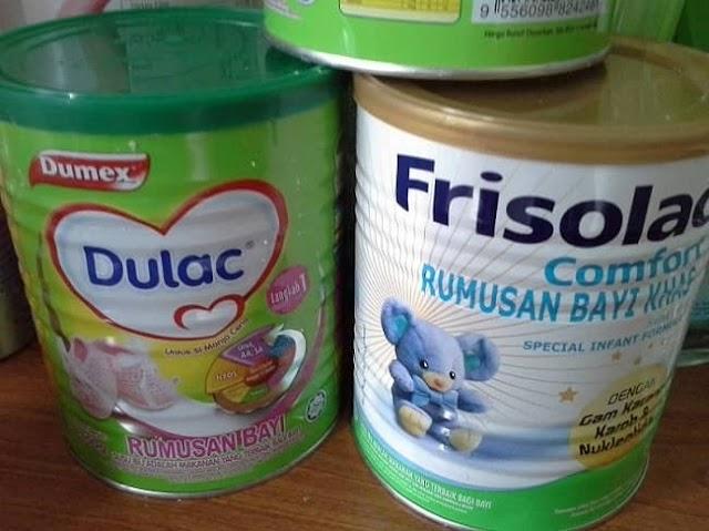 Susu Formula Terbaik Frisolac Untuk Bayi Sembelit