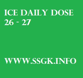 ICE DAILY DOSE 26 - 27