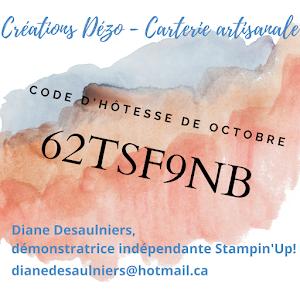 Code hôtesse de octobre 2021