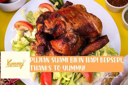Pujian Suami Bikin Hari Berseri, Thanks to Yummy!