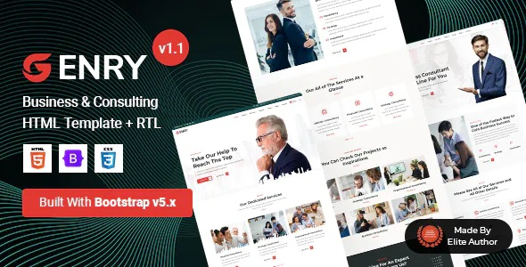 Best Business Consulting HTML Template