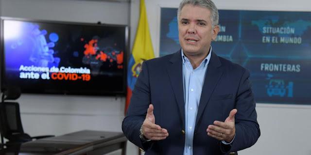"""Iván Duque: """" Cuarentena no acabaría el 13 de abril"""""""