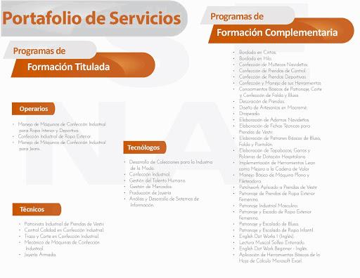 Portafolio de Servicios del CFDCM
