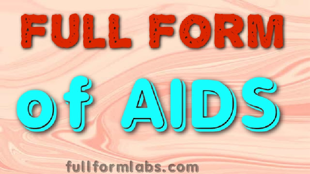 AIDS Full form