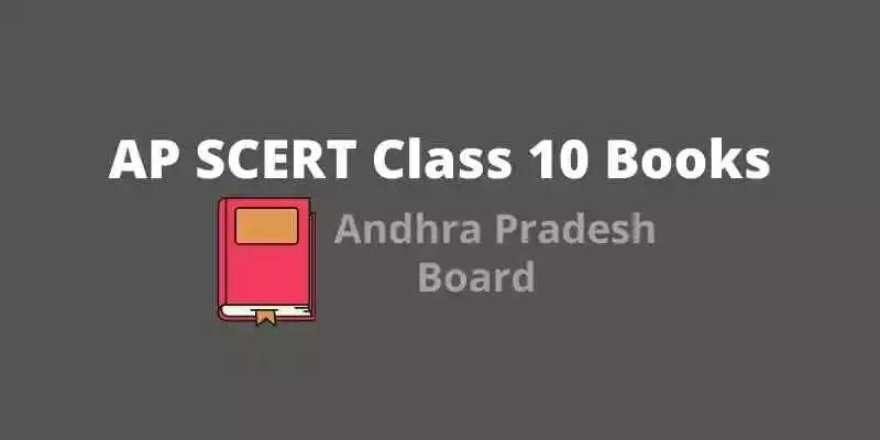 APScert 10th Textbooks PDF 2021, Andhra Pradesh 10th Class Books