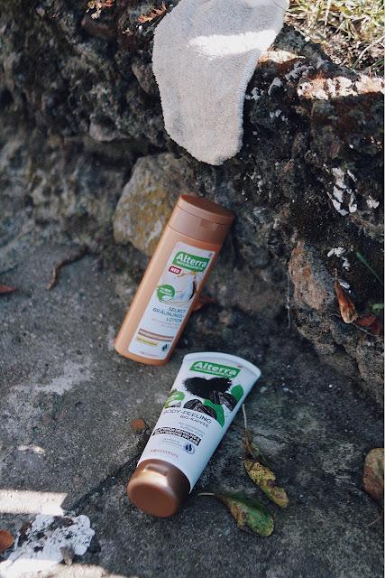 Alterra balsam samoopalający i peeling kawowy