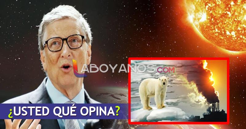 Bill Gates quiere tapar el sol y desató alerta entre los científicos