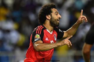 صور محمد صلاح في منتخب مصر