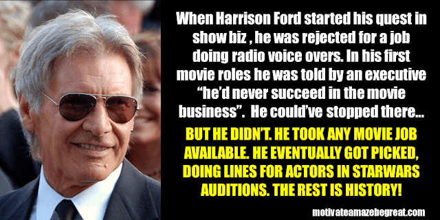 Success Stories From Famous People Who Failed Before Succeeding: Harrison Ford