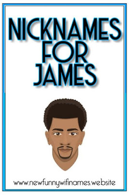 nicknames for james