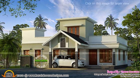 Mid budget house plan