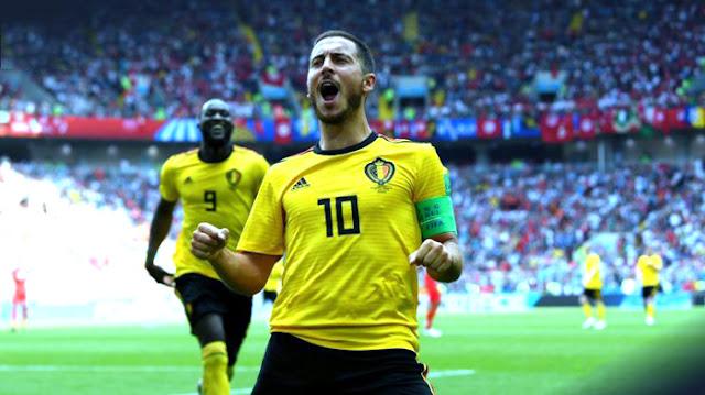 Lukaku & Hazard Dapat Keluar melawan Inggris