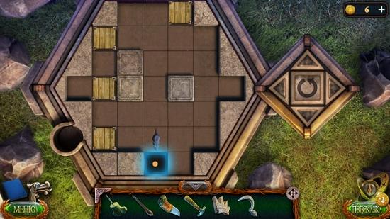 круг загнан в ямку мышкой в игре затерянные земли 4 скиталец
