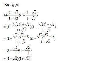 rút gọn căn thức bậc hai | toán đại số lớp 9