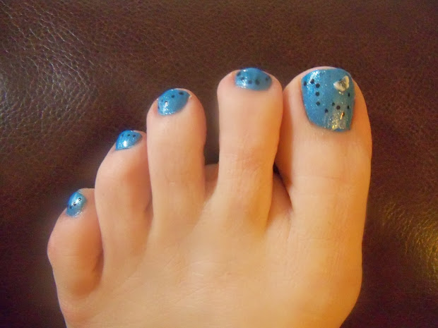 Disney Toe Nail Designs