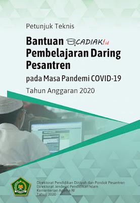 Juknis Bantuan Pembelajaran Daring Pesantren pada Masa Pandemi COVID-19 Pdf