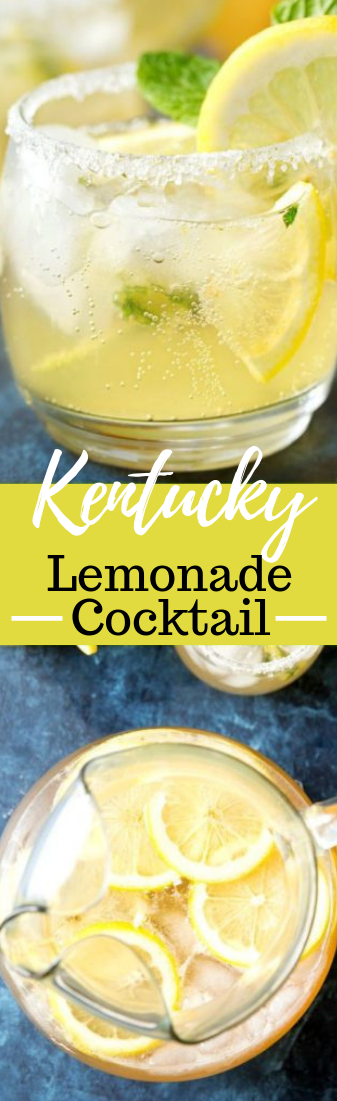 REFRESHING KENTUCKY LEMONADE COCKTAIL #drink