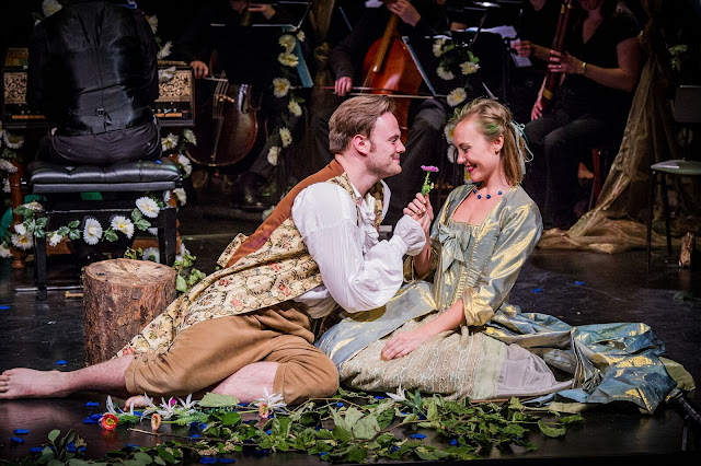 Nick Pritchard and Lucy Page in Handel's Acis and Galatea (Photo Robert Workman)