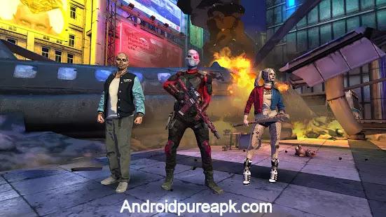 Suicide Squad: Special Ops Apk Download Mod+Hack+Data