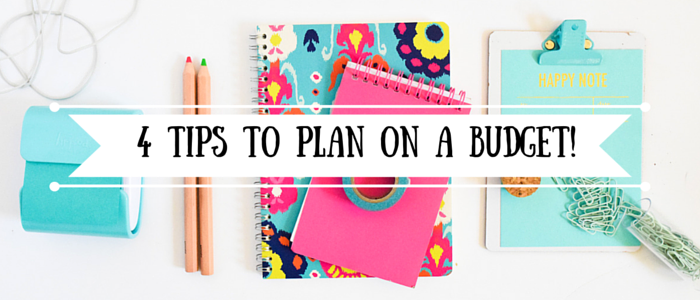 Plan On A Budget!