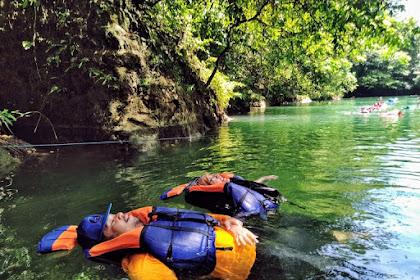 Menikmati Sensasi Body Rafting di Sungai Citumang