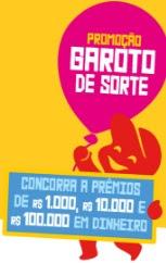 Cadastrar Promoção Garoto de Sorte 2016 2017 Caixa Bombons