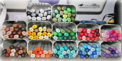 Copic Marker Storage Rocky Mountain Paper Crafts