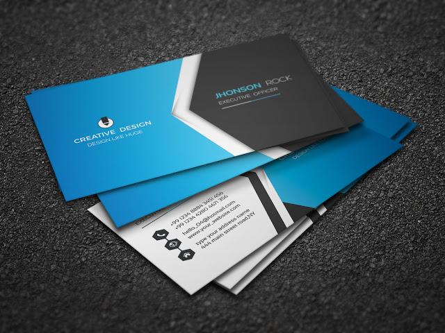 Modern Free Premium Business Card