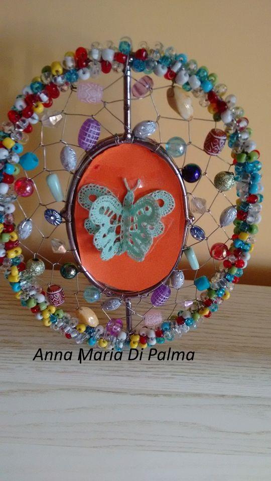 Broderiemonamour di anna maria di palma farfalla a tombolo - Colorazione pagine palma domenica ...