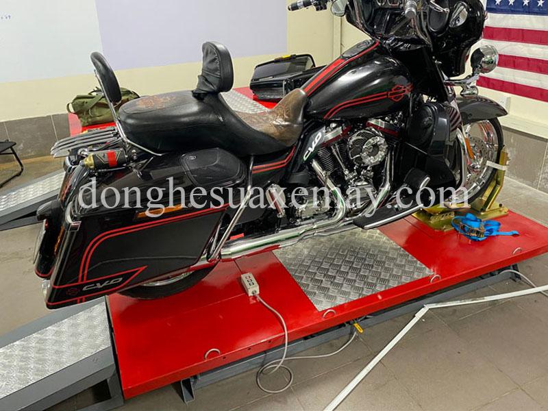 Bàn nâng sửa chữa xe mô tô