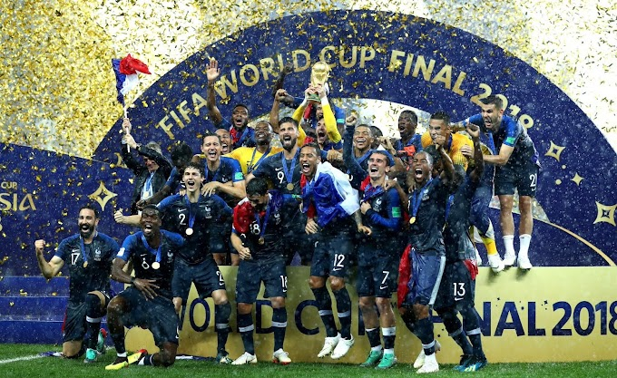 France top latest FIFA rankings, Germany out of top 10 as Ghana sit 45th