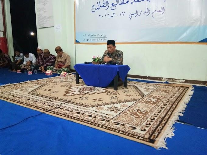Wejangan KH Asnawi Rachmat Dalam Haflah Khitamiyah Ma'had Jami'ah