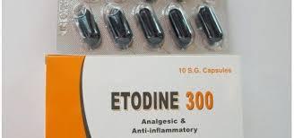 سعر ودواعى إستعمال إيتودين Etodine كبسولات مسكن للالم ومضاد للروماتيزم