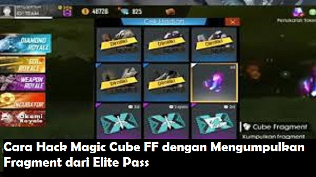 Cara Hack Magic Cube FF
