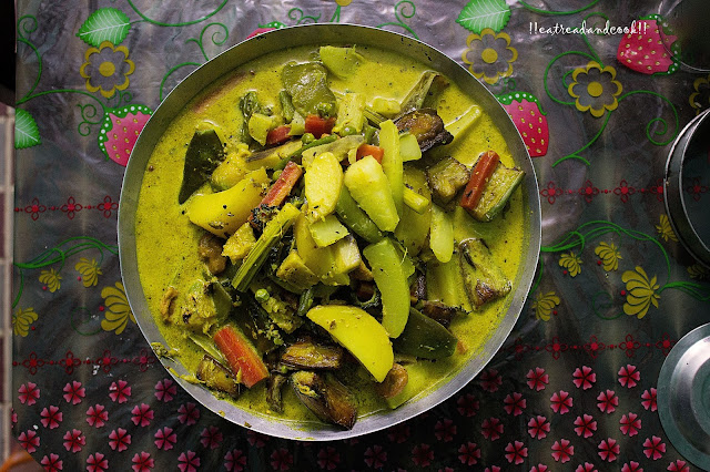 how to make Shukto - Bengali Bitter Mixed Vegetable Curry recipe and preparation with step by step pictures