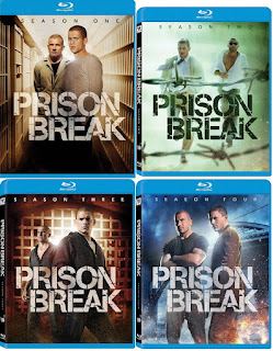 Prison Break: Seasons 1,2,3,4 (TV) (2005-2009) Blu-ray