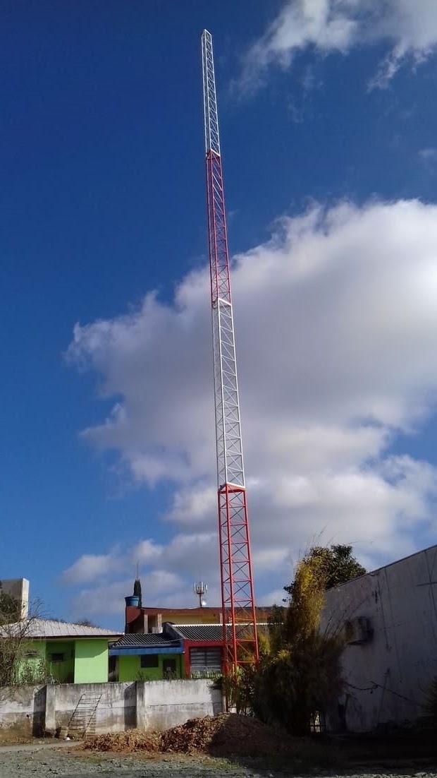 Torre internet Major Vieira