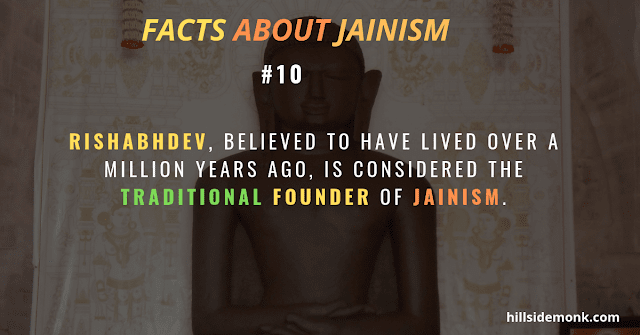 Rishabhdev Adinatha traditional founder of Jainism. jainism founder