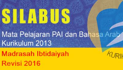Silabus Fiqih Kelas 1|2|3|4|5|6 Kurikulum 2013 Revisi Terbaru (Update 2017)