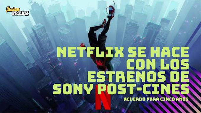 Las próximas películas de Sony (Spiderman, Morbius, Uncharted...) llegarán en exclusiva a Netflix tras su estreno en cines