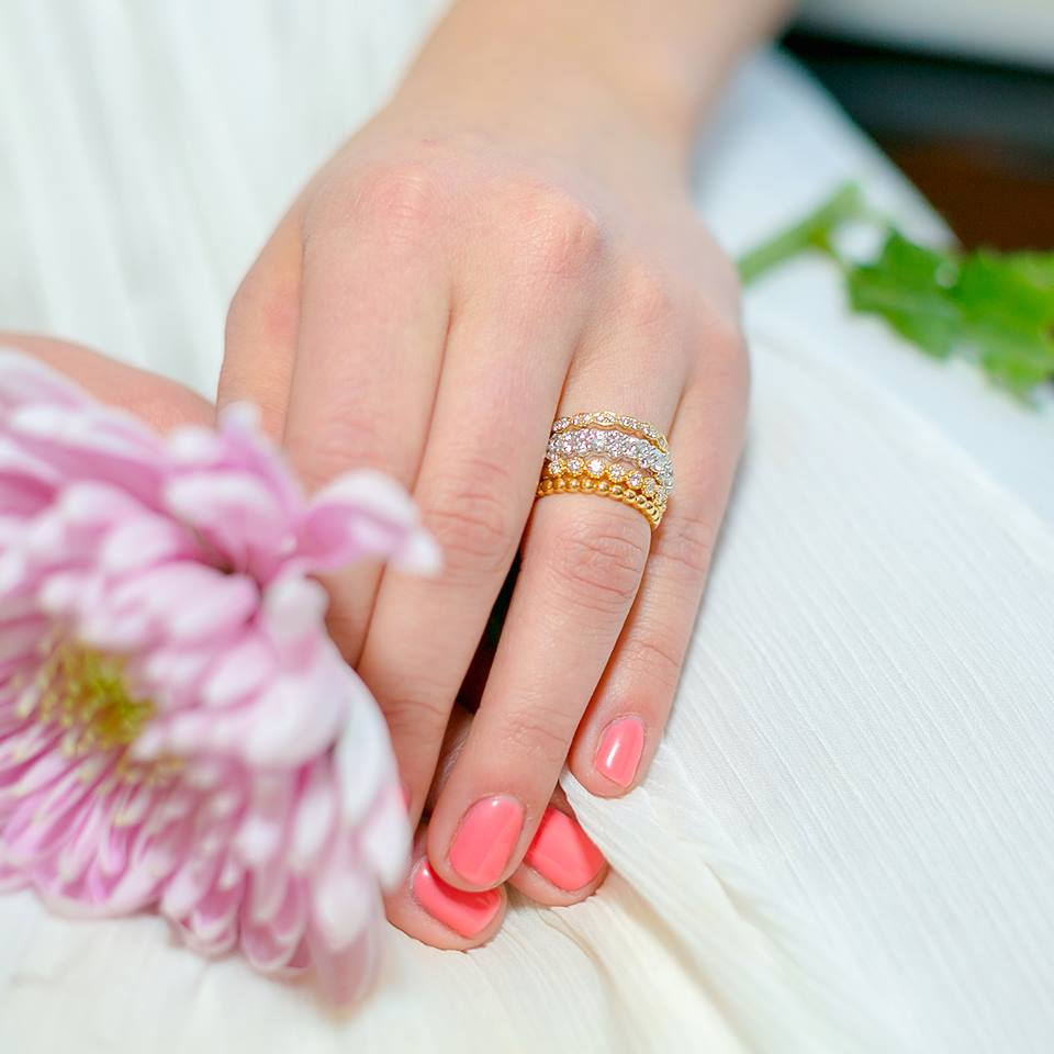 Tips For Stacking Rings | Bright Talk From Goldstein\'s