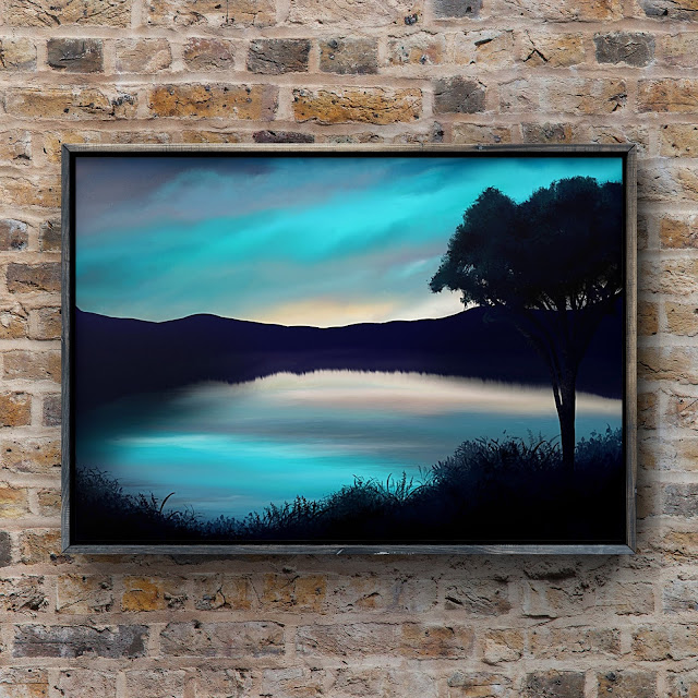 upon the breathing tide, landscape art, Mark Taylor, Pixels, Fine Art America