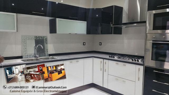 Fabrication vente installation et pose des cuisines - Cuisine equipee casablanca ...