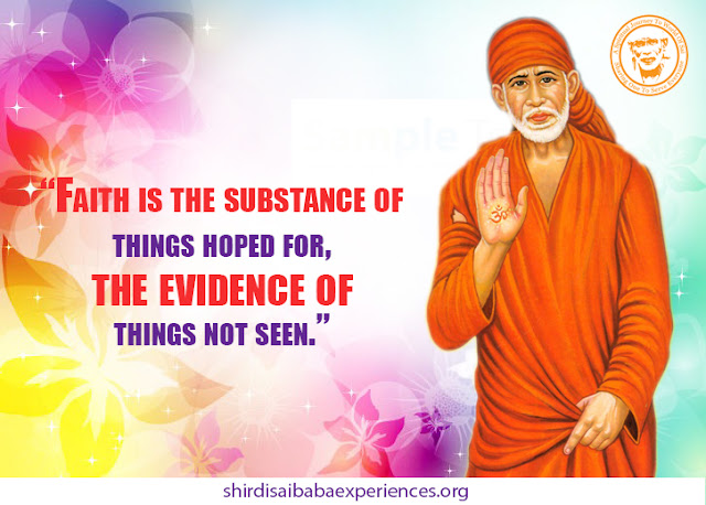 Shirdi Sai Baba Blessings - Experiences Part 2606