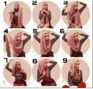 Tutorial Hijab Simple Untuk Remaja