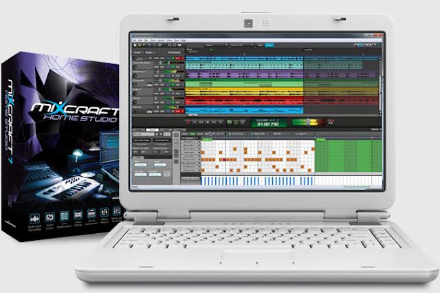 تحميل برنامج مكس كرافت Mixcraft 5 كامل + فلاتر